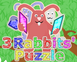 """3 Rabbits' Puzzle"" game"