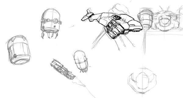 flying enemies art