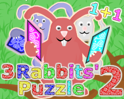 """3 Rabbits' Puzzle 2"" game"